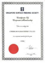 Singapore Surface Finishing Society (1998)