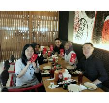 PT GK Industry Lunar New Year Team Lunch 2017